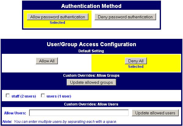Precedence Technologies Wiki - Support-KB-NetManager / Ssh